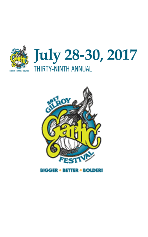 2017 Gilroy Garlic Festival