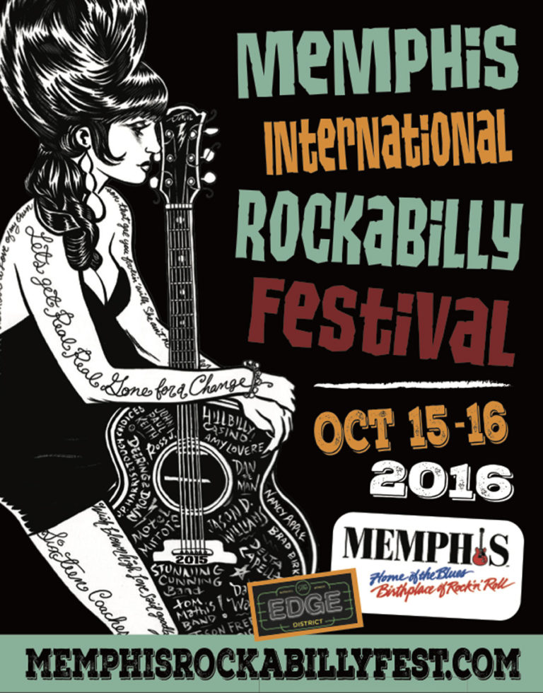 Memphis International Rockabilly Festival poster